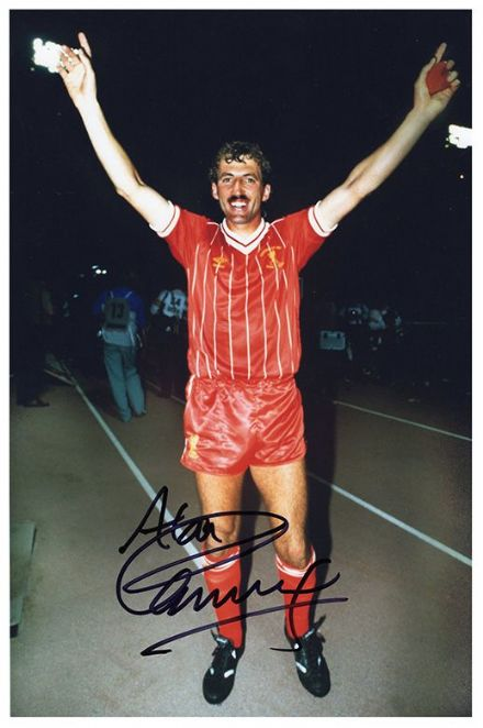 Alan Kennedy, Liverpool, signed 12x8 inch photo.